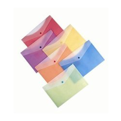 Button Plastic Envelopes