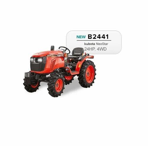 Kubota Tractors - Kubota NeoStar B2441 24 HP Tractor Exporter from Pune