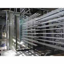 BSJS SS,MS Aluminum Profile Powder Coating Plant