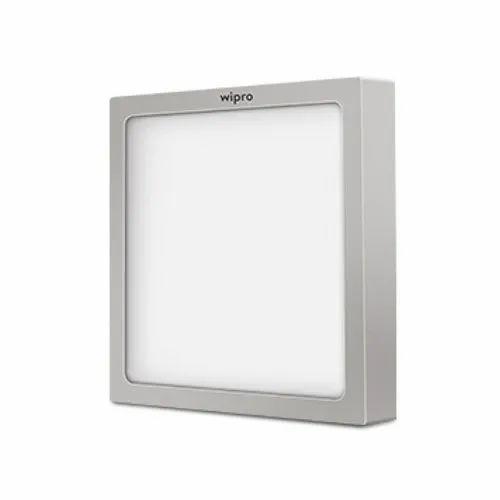 Wipro Garnet Trimless Square LED Surface Panel Light, 6 W, 12 W, 18 W