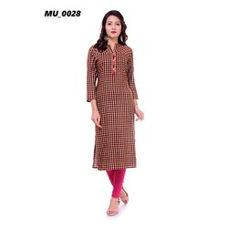 Check Ladies Kurti