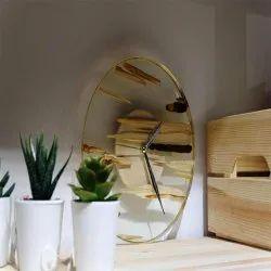 Vilasaa Luxury Analogue wood wall clock