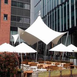 White Canopy Tensile Structure