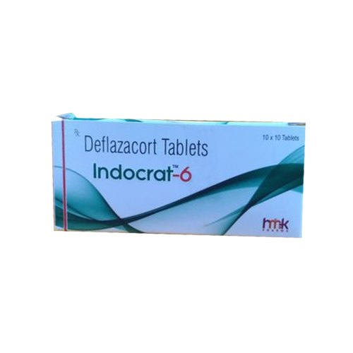 Deflazacort Tablets, 10 X 10 Tablet, Packaging Type: Box