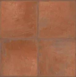 Cotto Rouge Flooring Ceramic Tile, Size: 600 X 600 MM