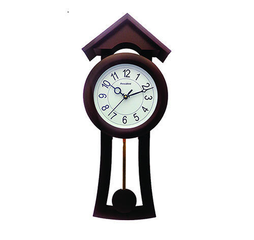 quartz large movement kitchen pendulum living clocks mute grade villa room from sweep wooden watches clock japanese product high wall
