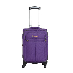 900 D N High Sheen Polyester Fabric Plain Polyester Trolley Suitcase