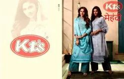 KTS Embroidery Work JAM COTTON SUITS
