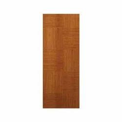 Golden Teak Wood Flush Door, Thickness: 25-50 mm