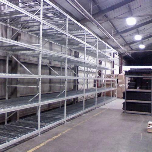 Aleva Grey Bulk Storage Rack