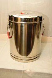 10 L Stainless Steel Pot, For Hotel/Restaurant, Grade: 304