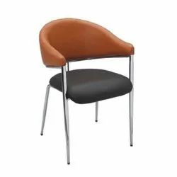Modern Leather Cafeteria Chair
