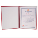 Single Pocket Printed Convocation File