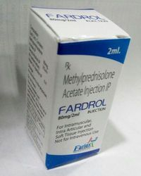 Fardrol Methylprednisolone Acetate Injection