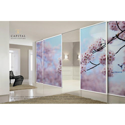 Sliding Wardrobe Designer Glass