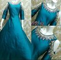Designer Silk Gowns Pc-03