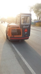 Road Dust Sweeping Machine