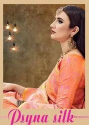 YNF Psyna Silk Banarasi Art Silk Saree Catalog Collection