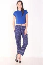 Ladies Rayon Pyjama