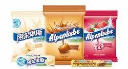 Perfetti Orange Alpenliebe Candy Lollipops, Packaging Type: Plastic Jar