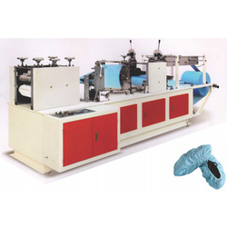 Non Woven Shoe Cover Making Machine with PLC System