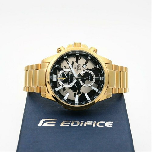 Casio World Map Gold Edifice Watch At Rs 2500 Piece Kids Watches