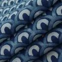 Hand Block Dabu Indigo Blue Print 100% Cotton Fabric