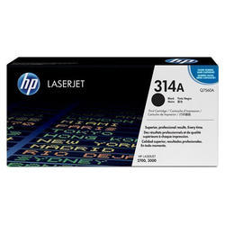 HP Q7560A 314A Black Toner Cartridge