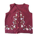 Embroidery Kids Casual Sweater