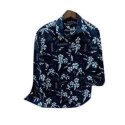 Cotton Men Printed Shirt