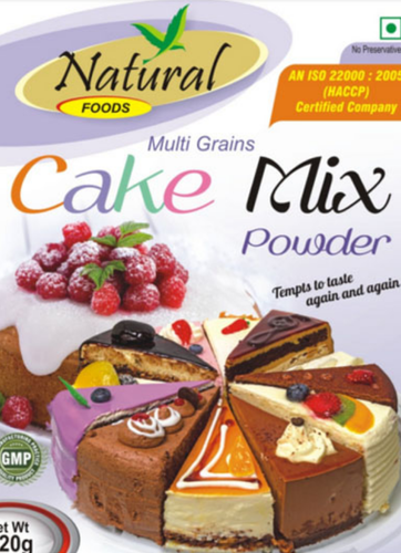 Natural Multigrains Cakemix Powder At Rs 120 Pack Cake