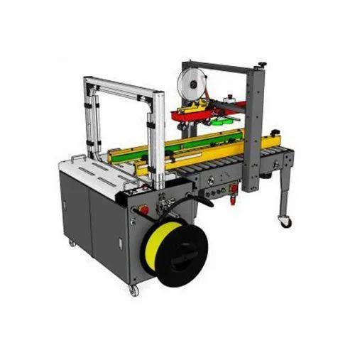 PW-553SB/0860 AC Carton Sealing Machine/Carton Strapping Machine