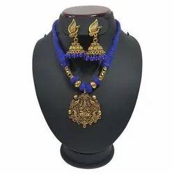 Artificial Oxodised Pom Pom Jewelry