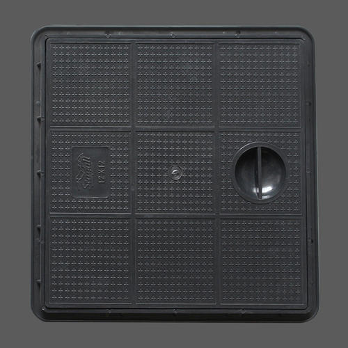 Black Plastic Manhole Cover