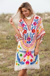 Embroidery Women Tunic