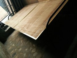 Brown Metal Plywood Folding Bed, Size: 6*3 Feet