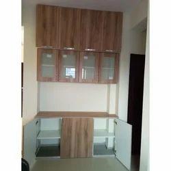HDF PVC Membrane Shutters Furniture Work