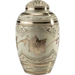 Dome Top Brass Urn
