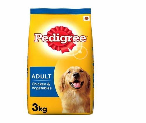 Pedigree Adult Dog Food Chicken Vegetables 3 Kg Pack Pedigree
