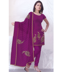 Hand Embroidery on Salwar Kameez