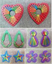 Decorative Handicrafts Wooden Thread, For Making Jewelery