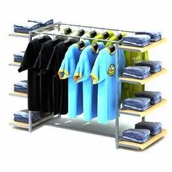 Garment display table