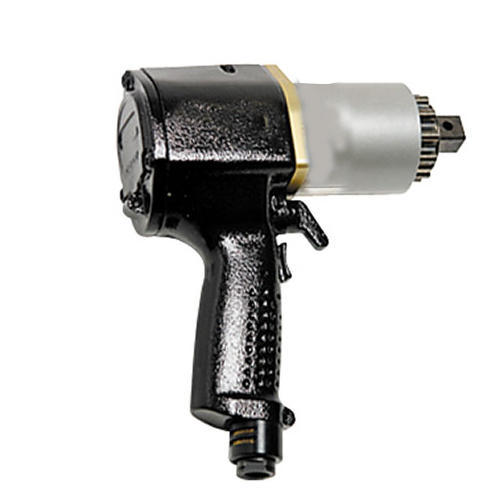 Silver And Black Motorized Torque Wrench