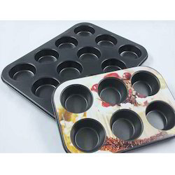 Coated Muffin Cup Cake Tray