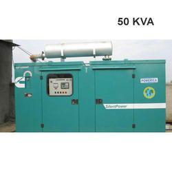 50 KVA Silent Generator