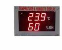 7 Segment LED Temperature Display