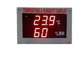 7 Segment LED Temperature Display
