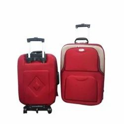 Plain Polyester Trolley Travel Bag, for Travelling