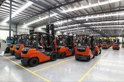Multiple Forklifts Rental