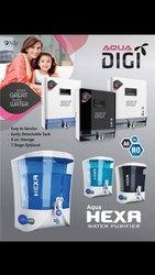 Aqua Hexa & Aqua Digi R.O + U.V + TDS Controller + Alklain Water Purifiers